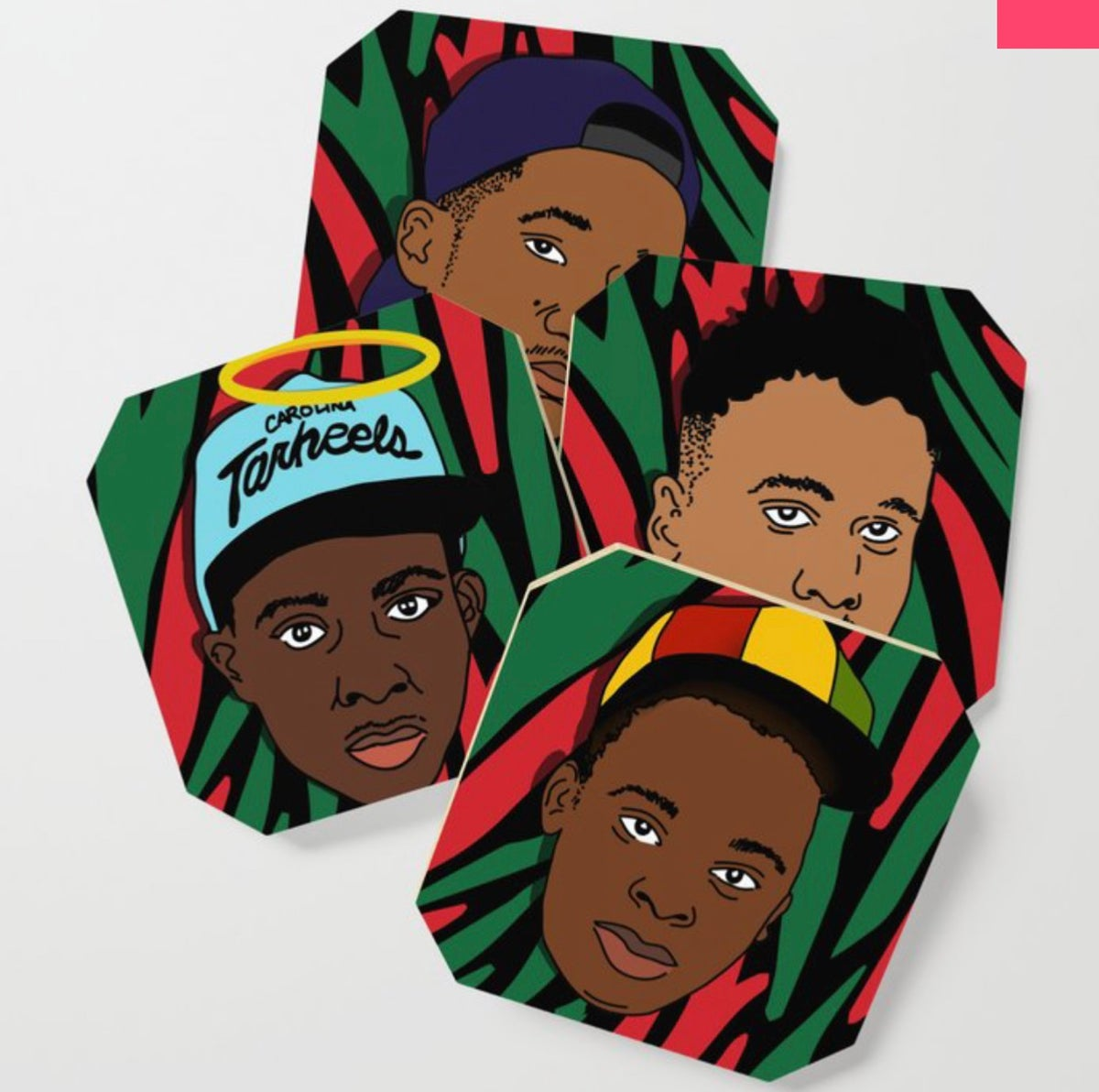 Image of Tribe, Y'all. (Coasters)