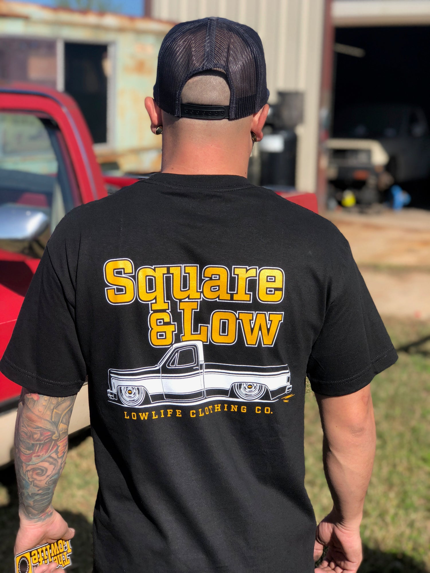 Image of Square & Low Tee