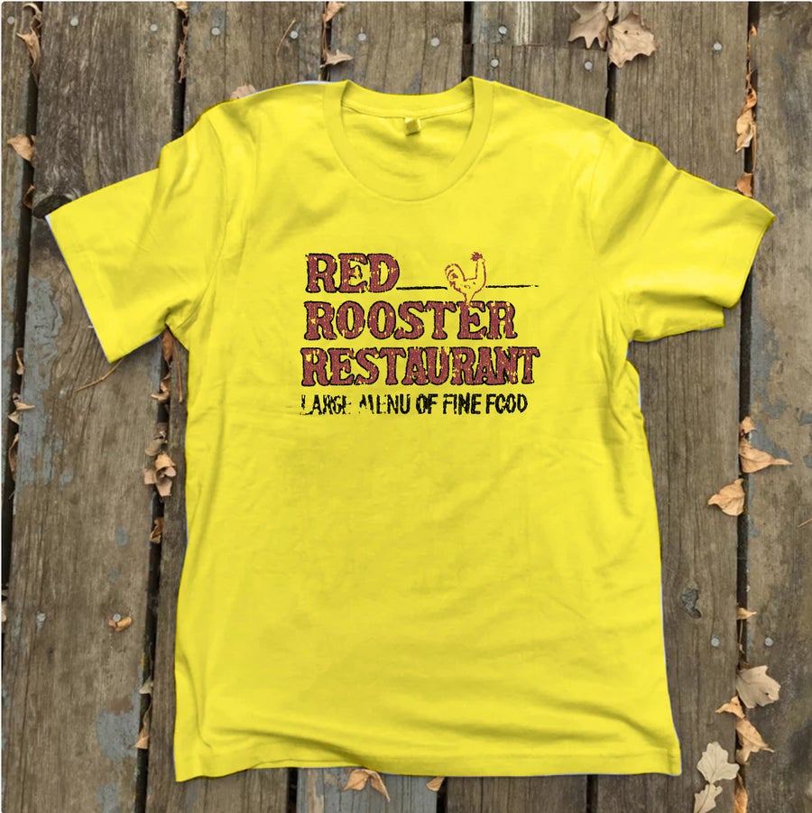 Image of Red Rooster Cafe  tees (print on demand)