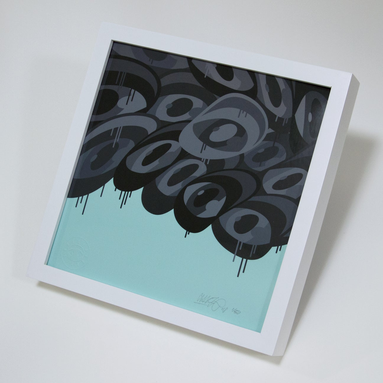 Image of 'Oneness (B/W/T)' - Print (Framed)