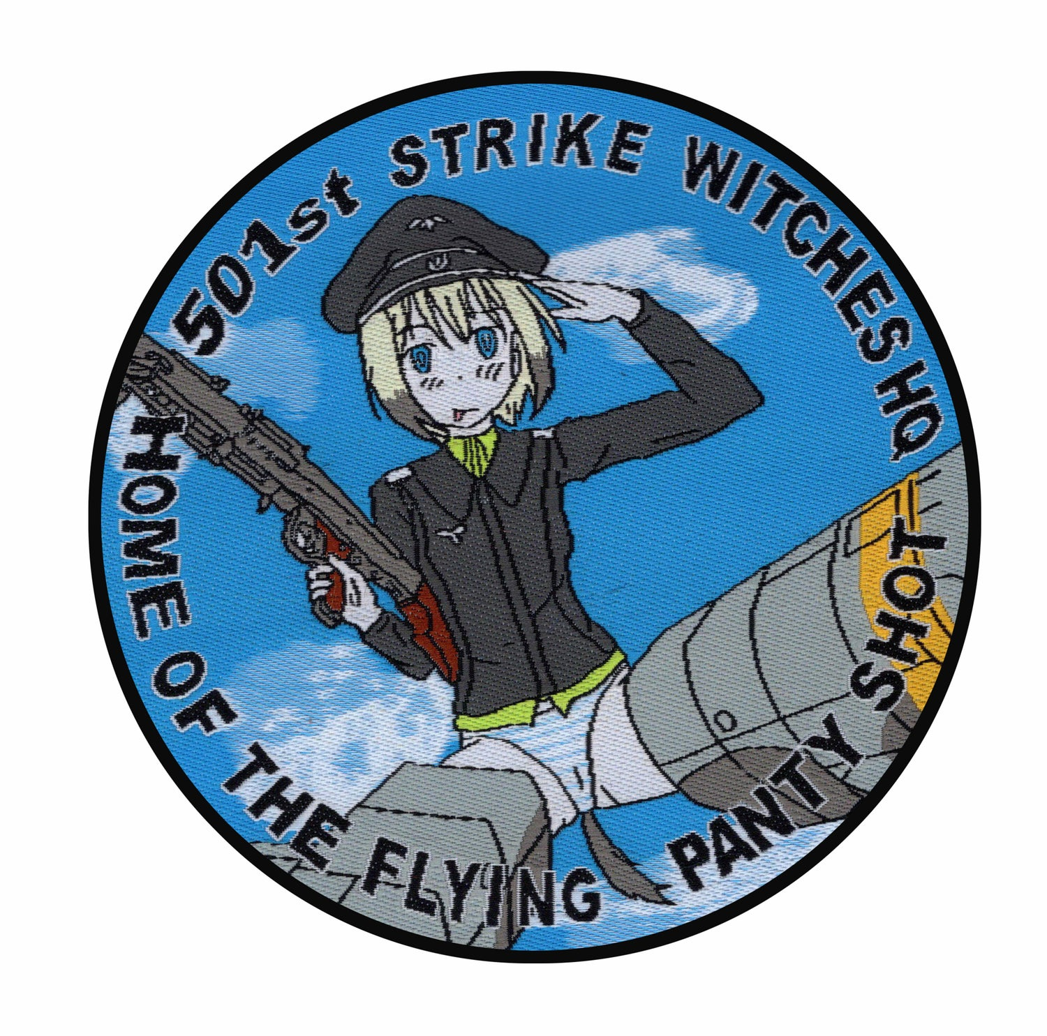 "Image of Strike Witches ""Home of the Flying Panty Shot"""