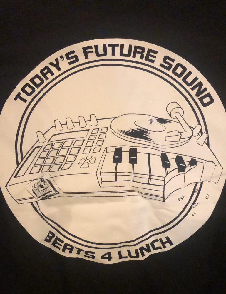 Image of Ableton Push/TFS Dream Machine Beats4Lunch 1-Color T-shirt