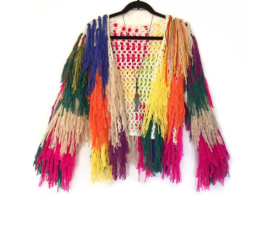 Image of Playa Multi Fringe Cardi