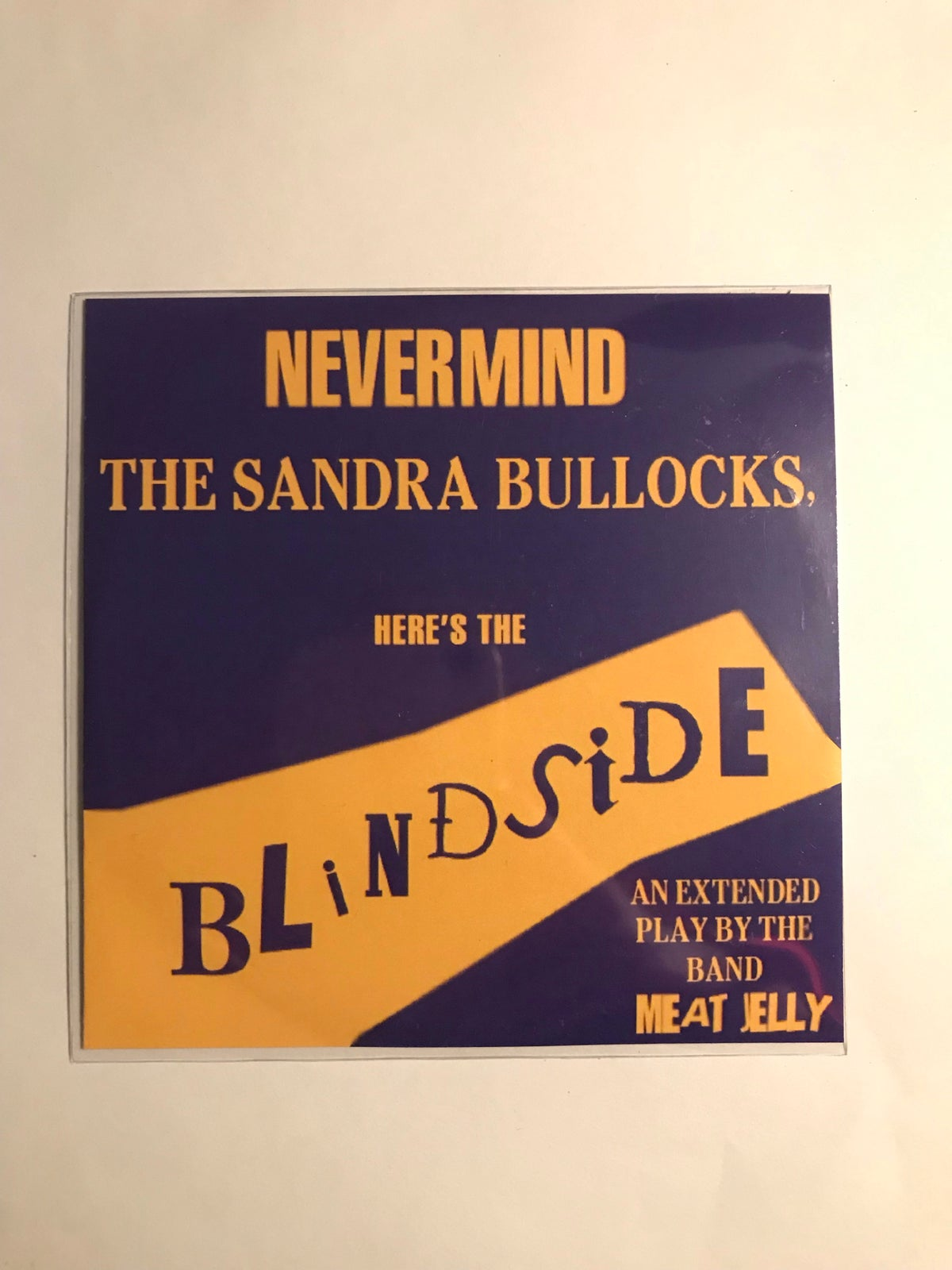 Image of Nevermind The Sandra Bullocks, Here's The Blindside (CD)