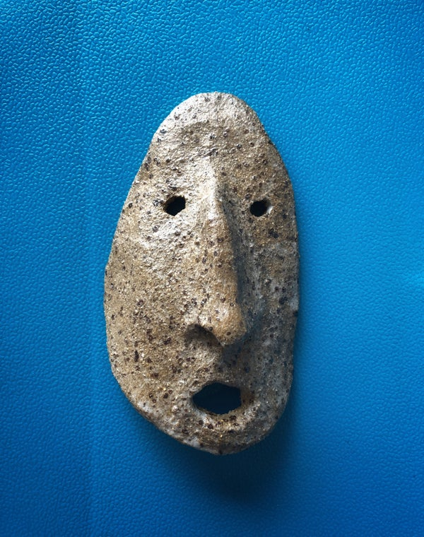 Image of STUDIO SALE! - Small Pot head mask 2