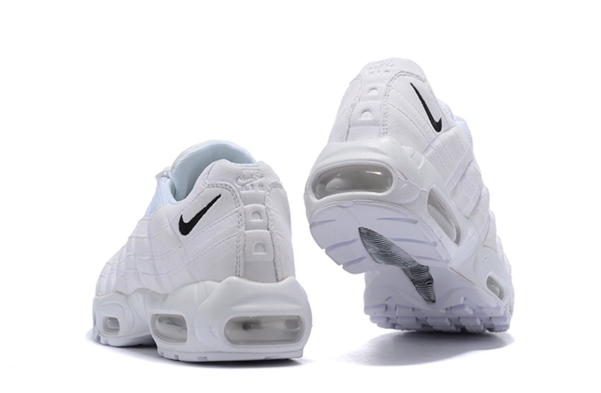 "Image of ""All Whites"" Air Max 95"