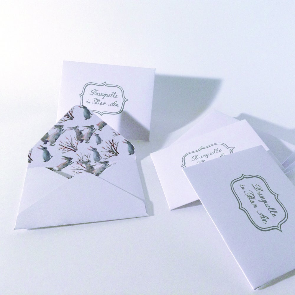 "Image of Mini enveloppe ""Dringuelle du Bon An"""