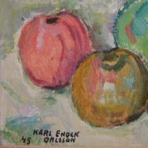 Image of 1945, Still Life, 'Posie with Apples.'