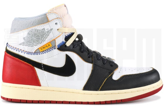 "Image of Nike AIR JORDAN 1 RETRO HI NRG/UN ""UNION"""