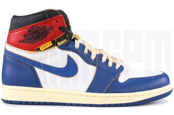 "Image of Nike AIR JORDAN 1 RETRO HI NRG/UN ""UNION EXCLUSIVE"""