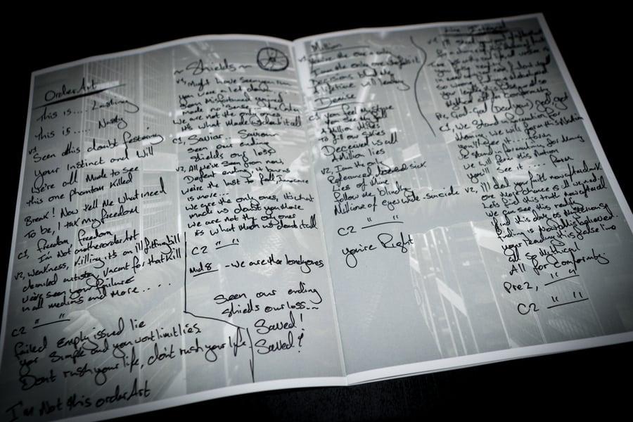 Image of Jayce Lewis - 'Million' Lyric Book (Pre-Order Purchase)