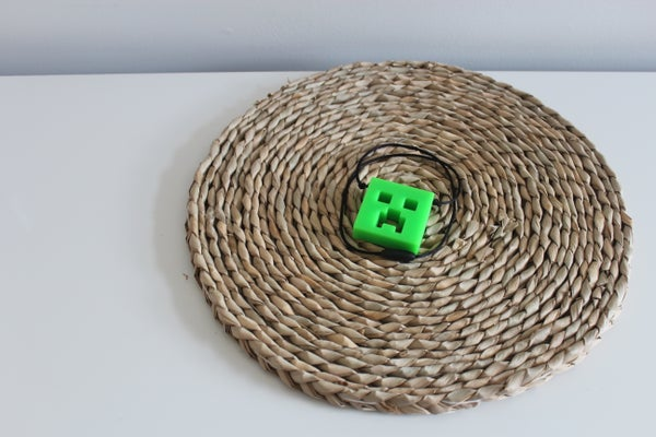 Image of Minecraft Silicone Necklace.