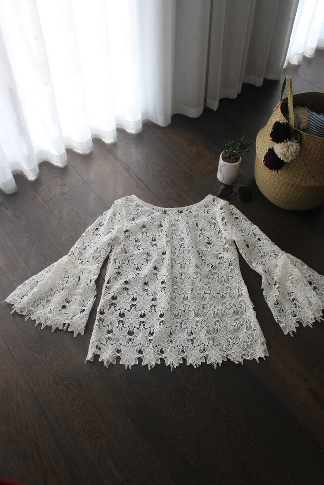 Image of Leonie Lace Tunic.
