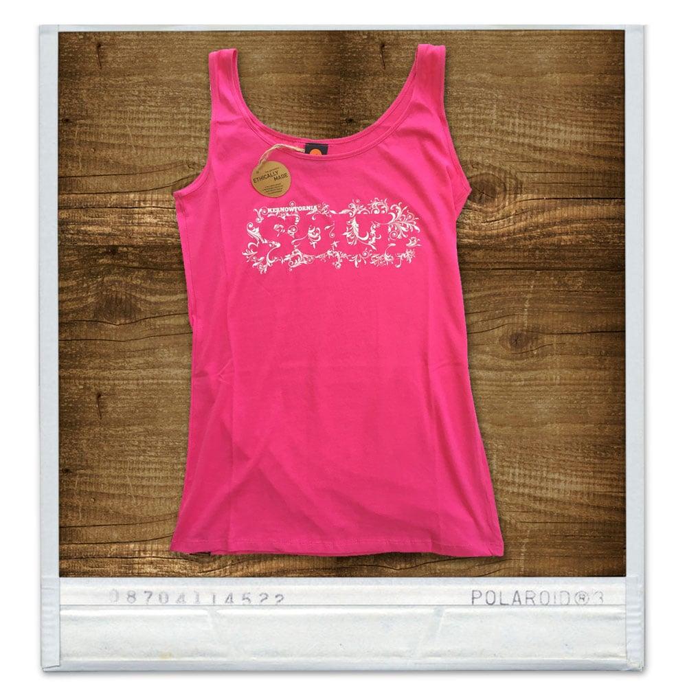 Image of Ladies - Kernowfornia SOUL: Vest top (Black, white or pink)