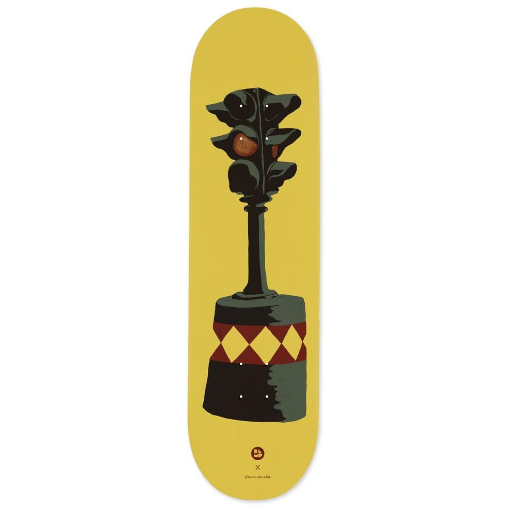 """Image of RAMP x Erica Hauser - """"Dummy Light"""" Skateboard"""