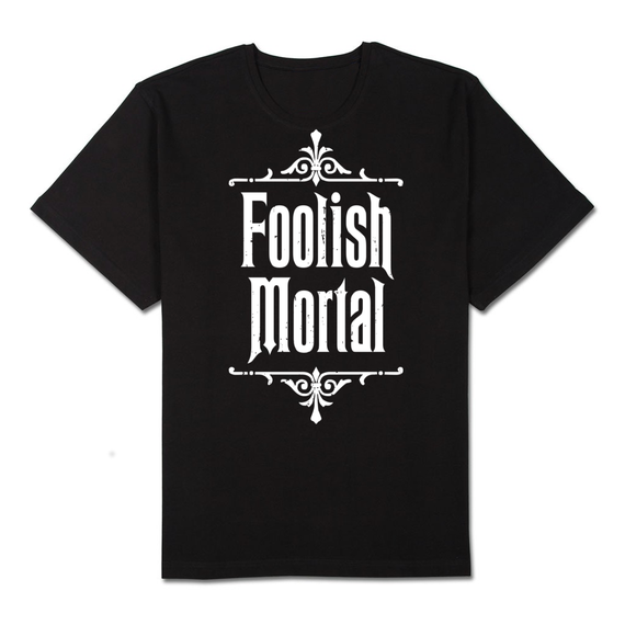 Image of Foolish Mortal - Haunted Mouse House Screen Printed Tee