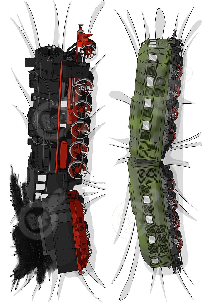 Image of The Original Train Dakimakura
