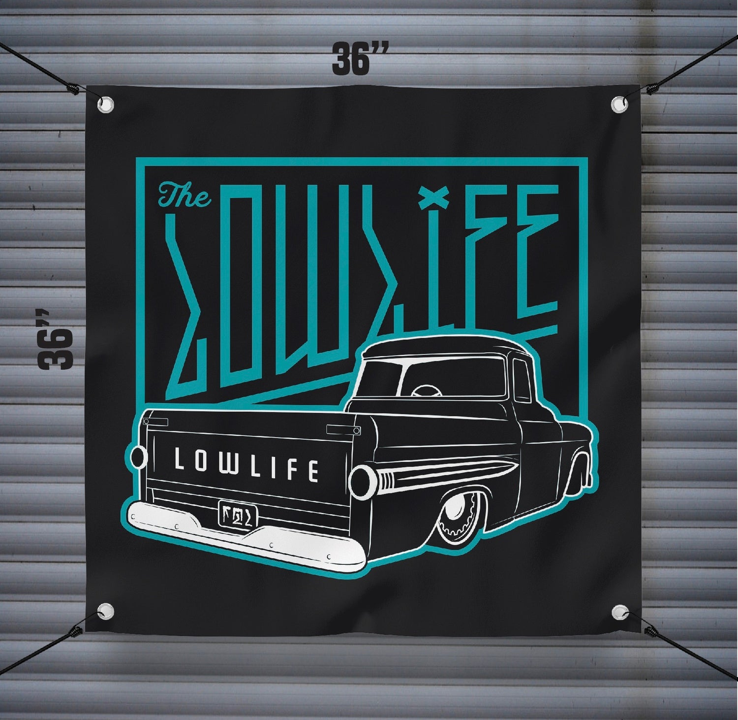 Image of 3 foot Lowlife Fleetside Banner