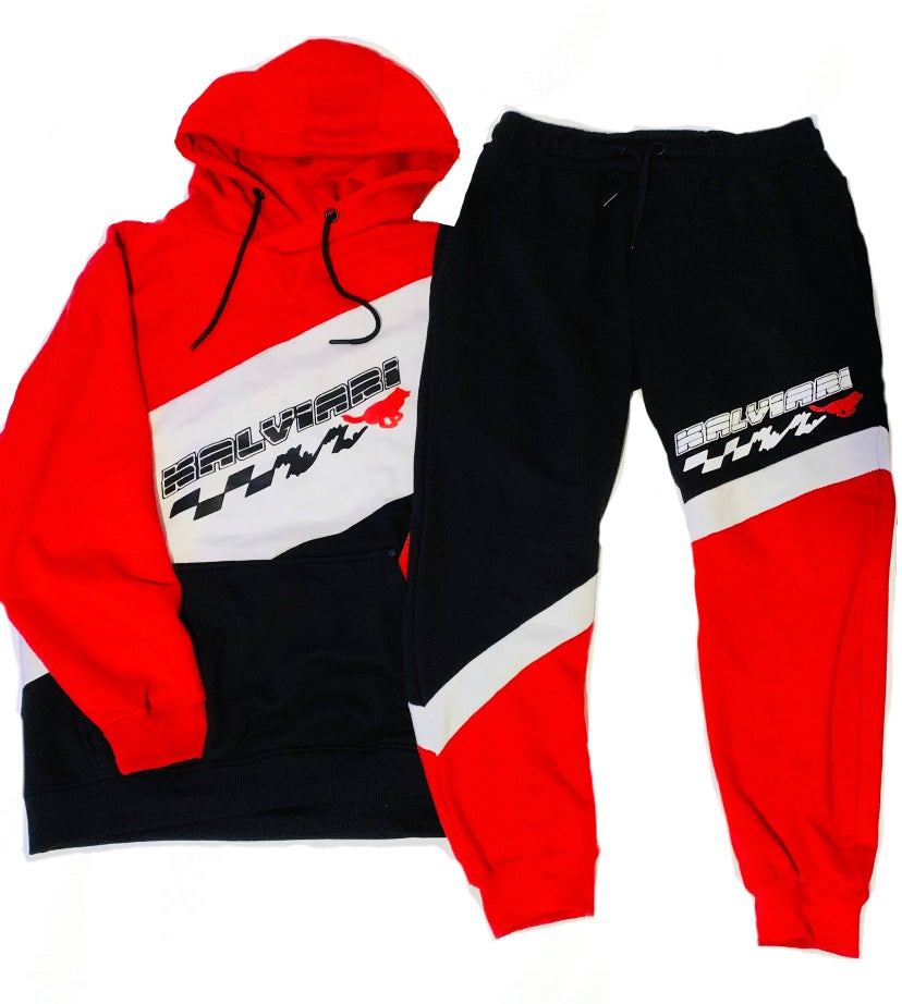 """Image of KALVIARI KUANTUM LEAP JOGGER SUIT """"SPORT RED"""" LIMITED EDITION"""