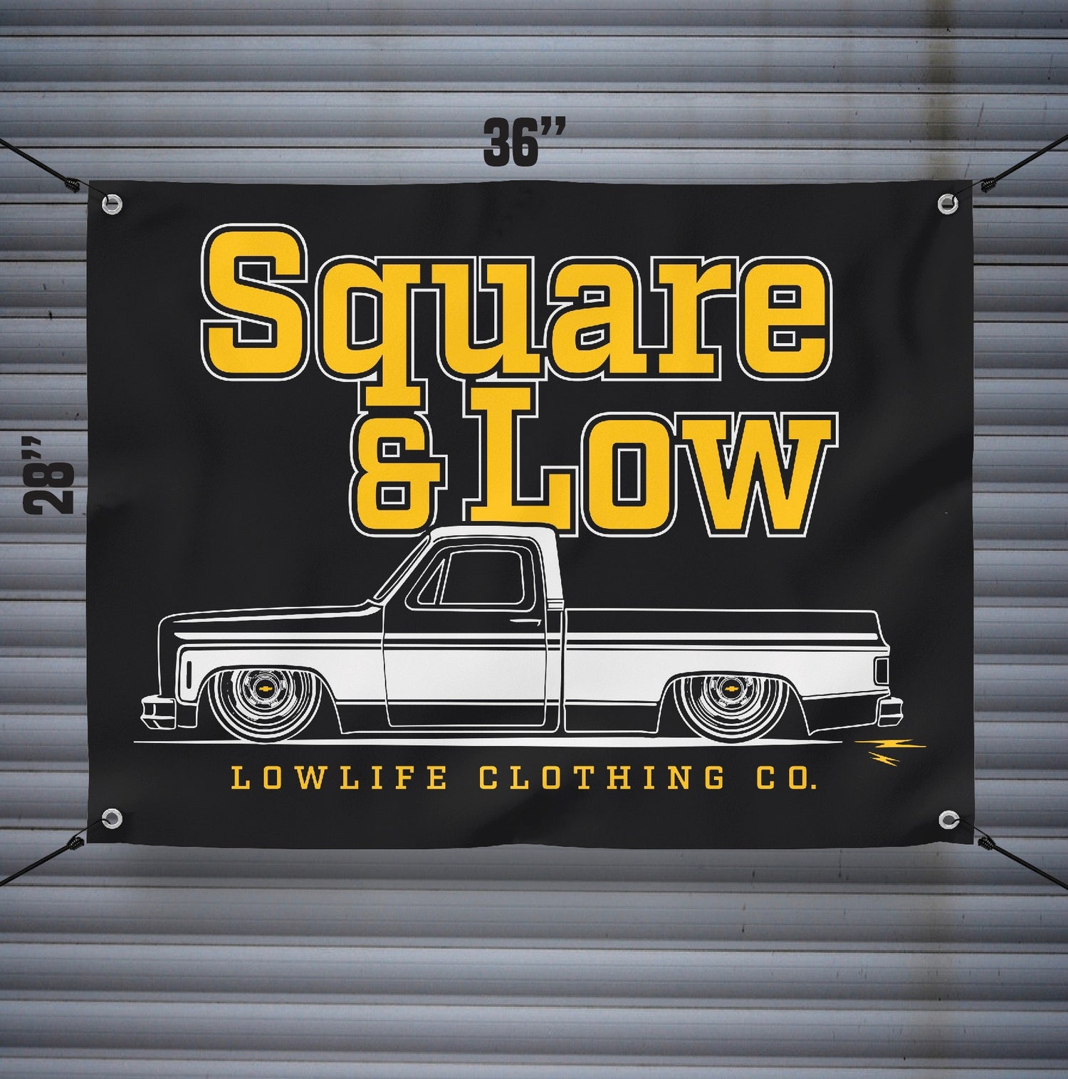 Image of Square & Low Banner