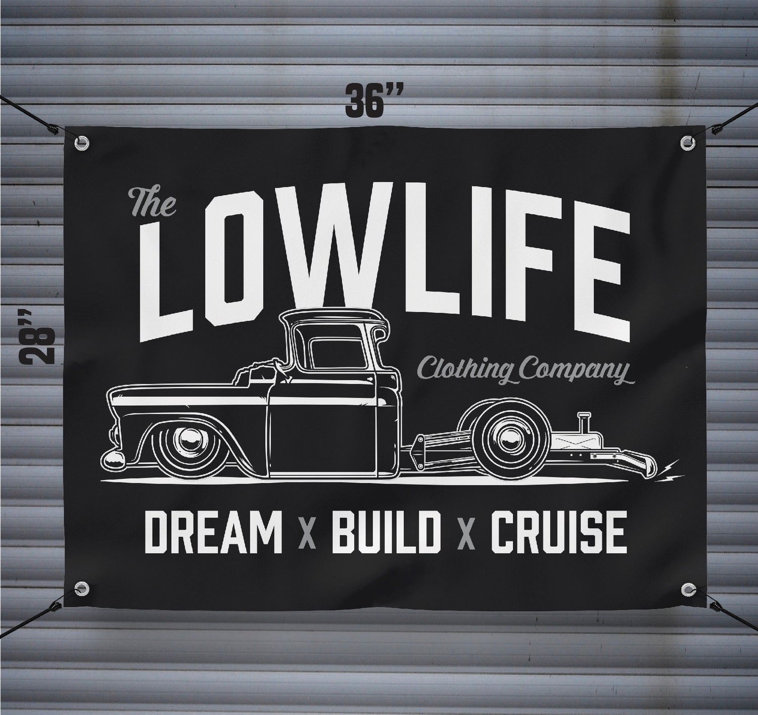 Lowlife Dream Build Cruise Banner The Lowlife