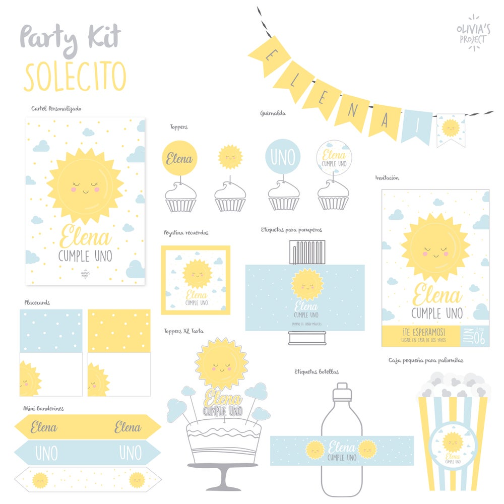 Image of Party Kit Solecito