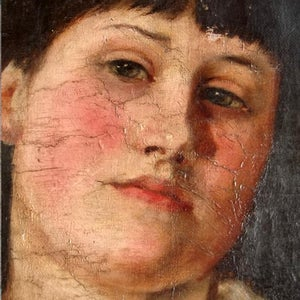 Image of 1890, Portrait of a Young Girl