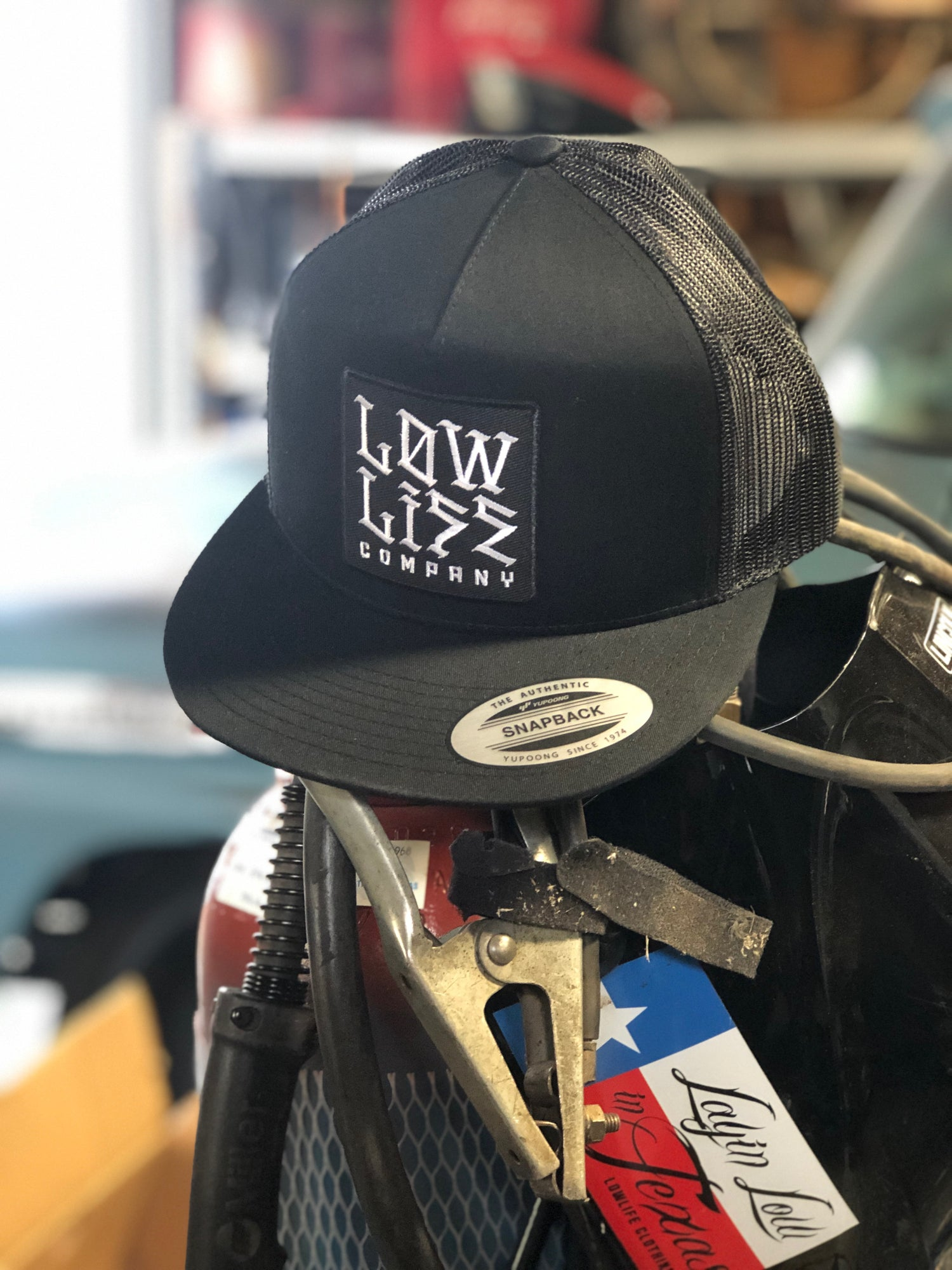Image of Black Lowlife New English Hat