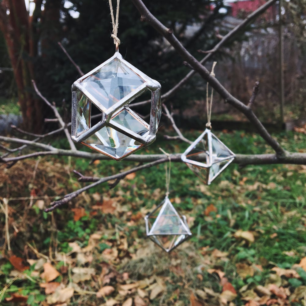 Image of 3D Disco Prism Ornament