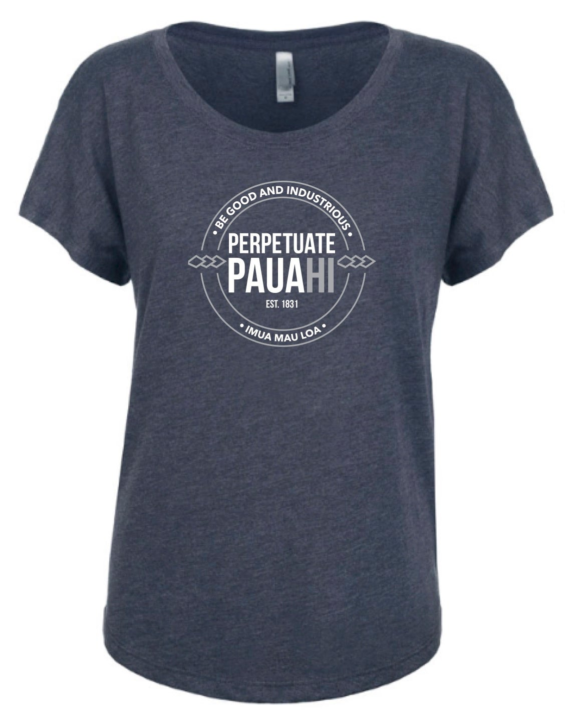 Image of Perpetuate Pauahi Women's (Vintage Blue) Shirt