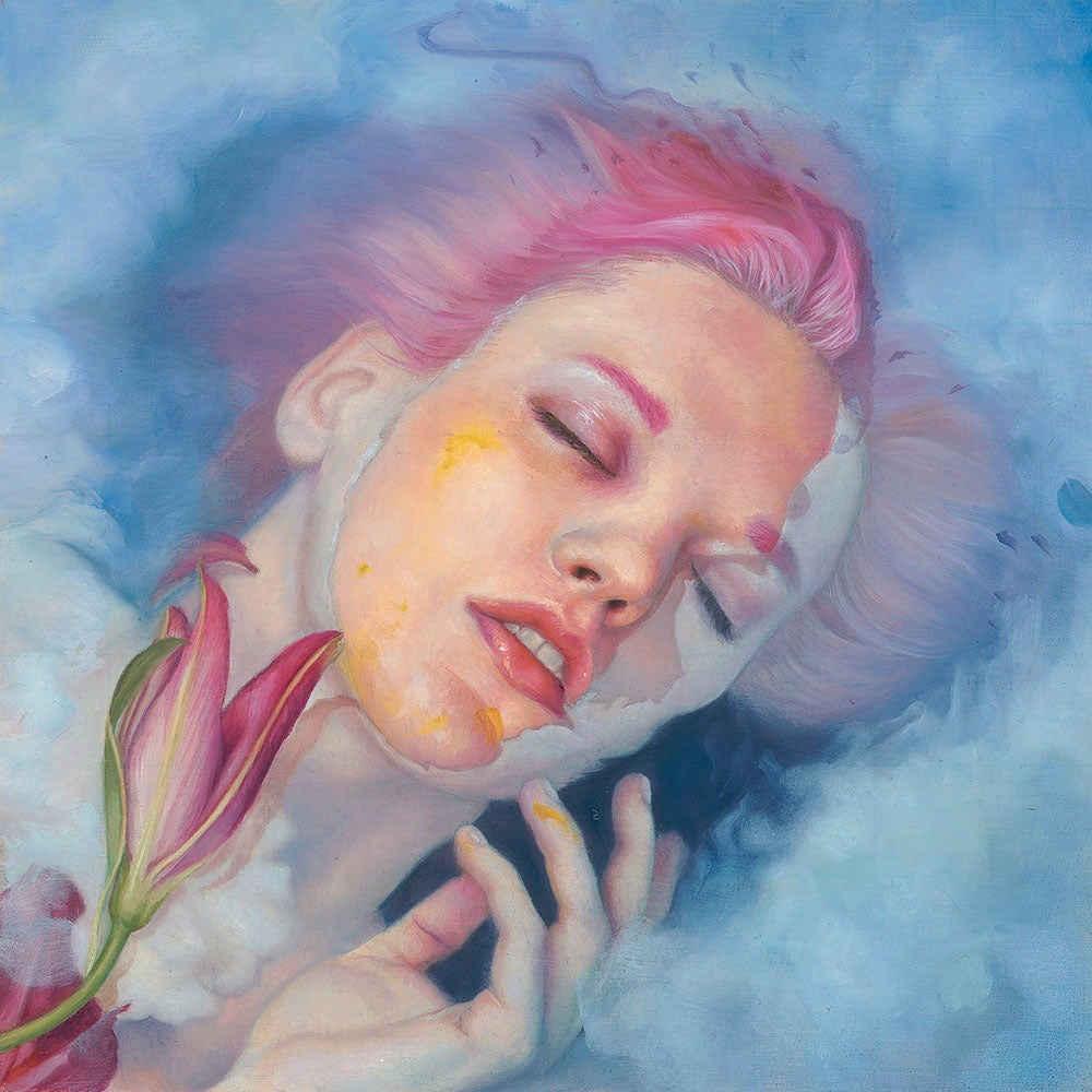 "Image of ""Pollen, Water, Dream Original Painting"