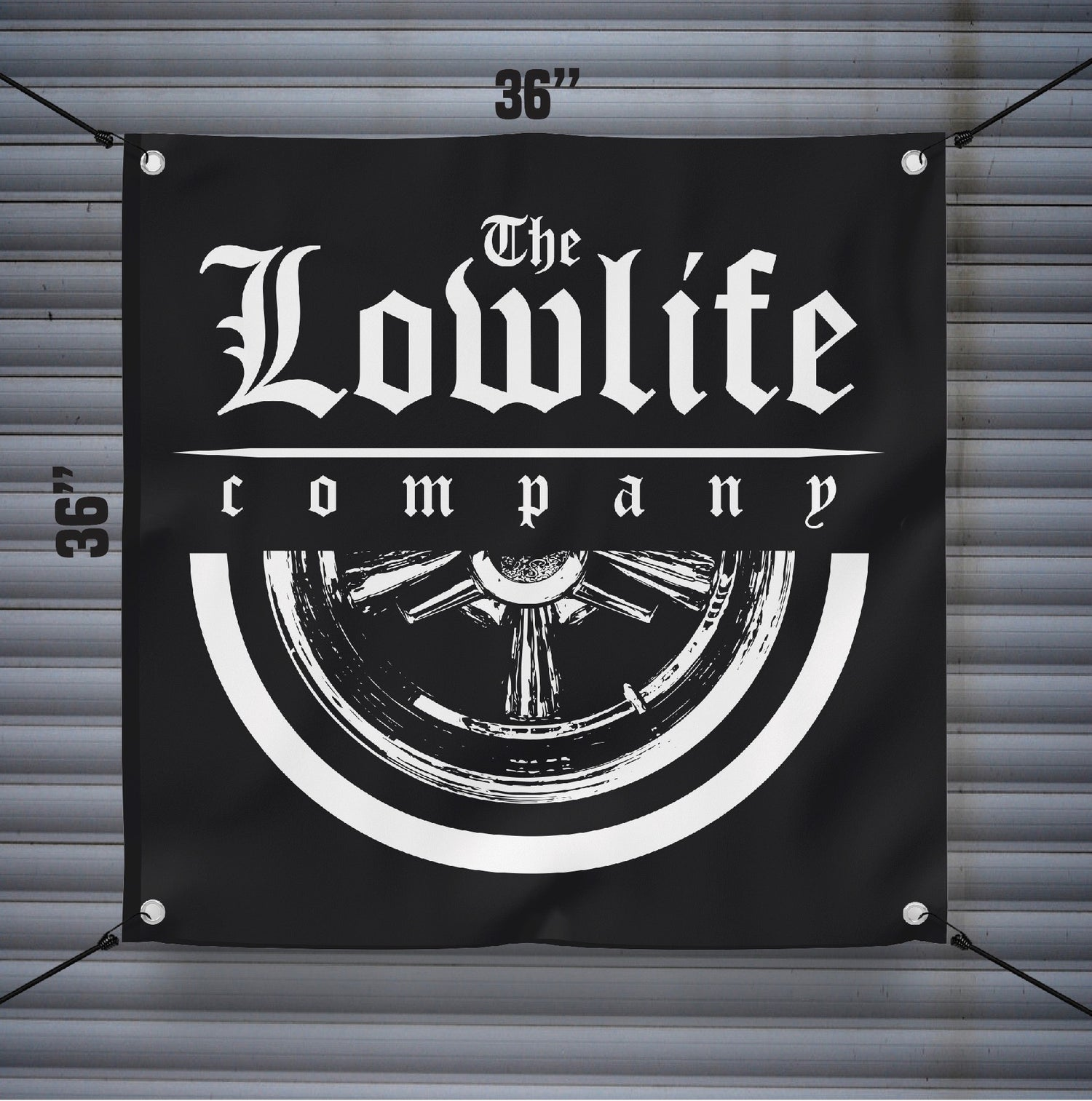 Image of Lowlife Supreme Banner