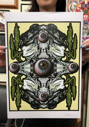 Image of Jondix EYES poster