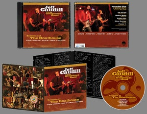 "Image of Jeff Caudill & The Goodtimes Band - ""Sessions At The Boathouse"" CD"