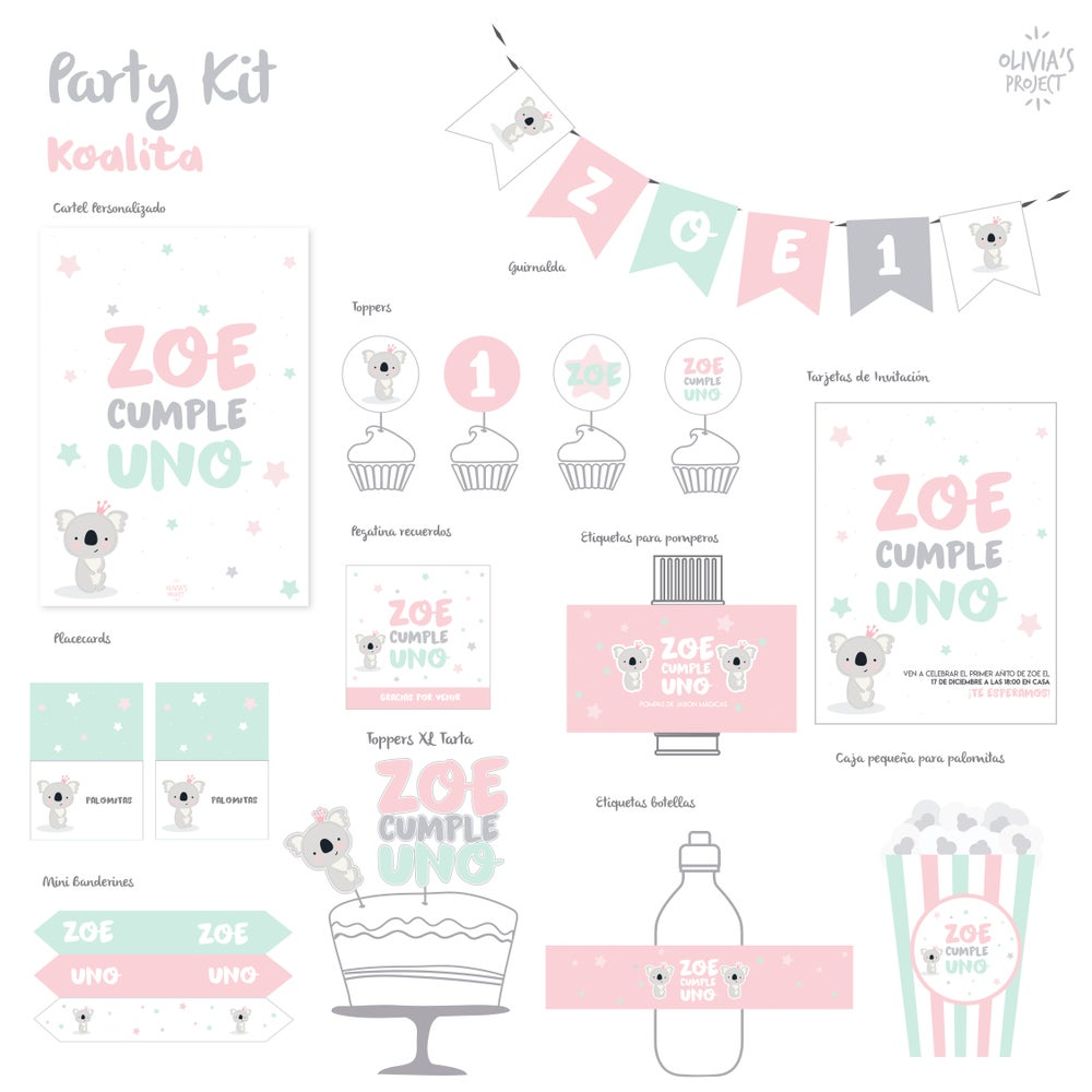 Image of Party Kit Koalita Impreso