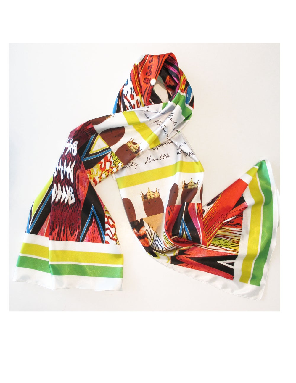 Image of Ashanti Kente Cloth Scarf