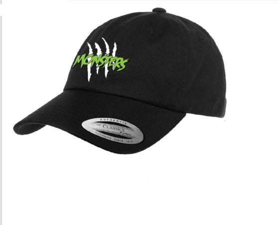 Image of MONSTERS Green Logo Dad Hat