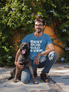 Image of Best Dog Dad Ever t-shirt
