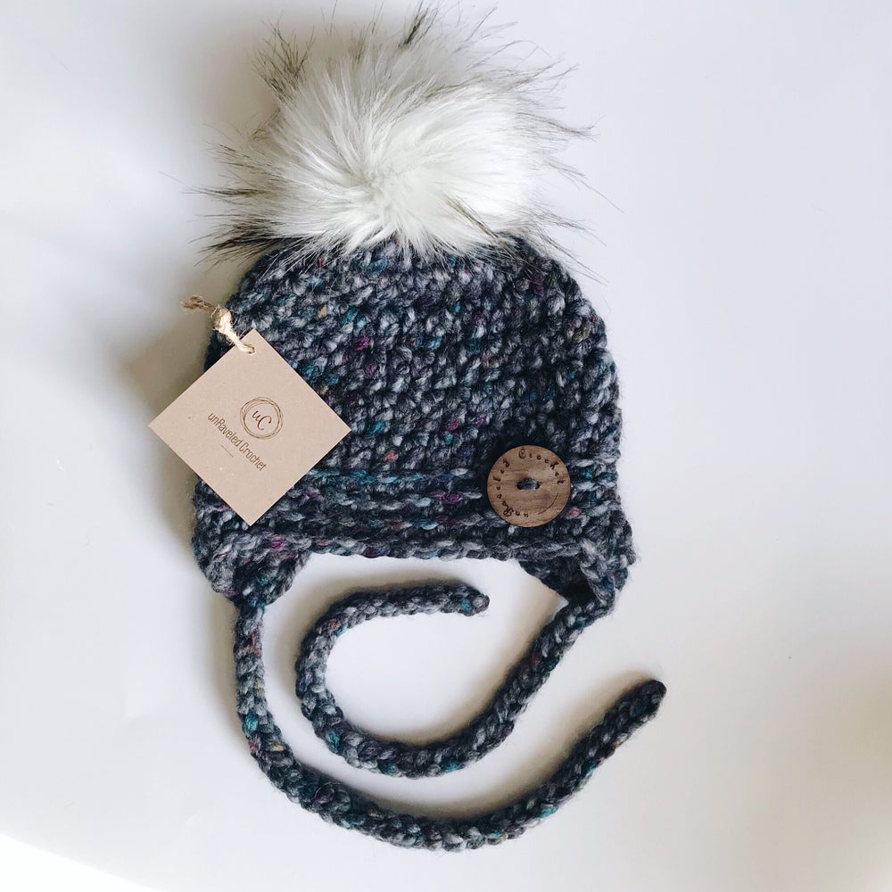 Image of 6-12 month Baby Earflap Hats Ready-to-Ship