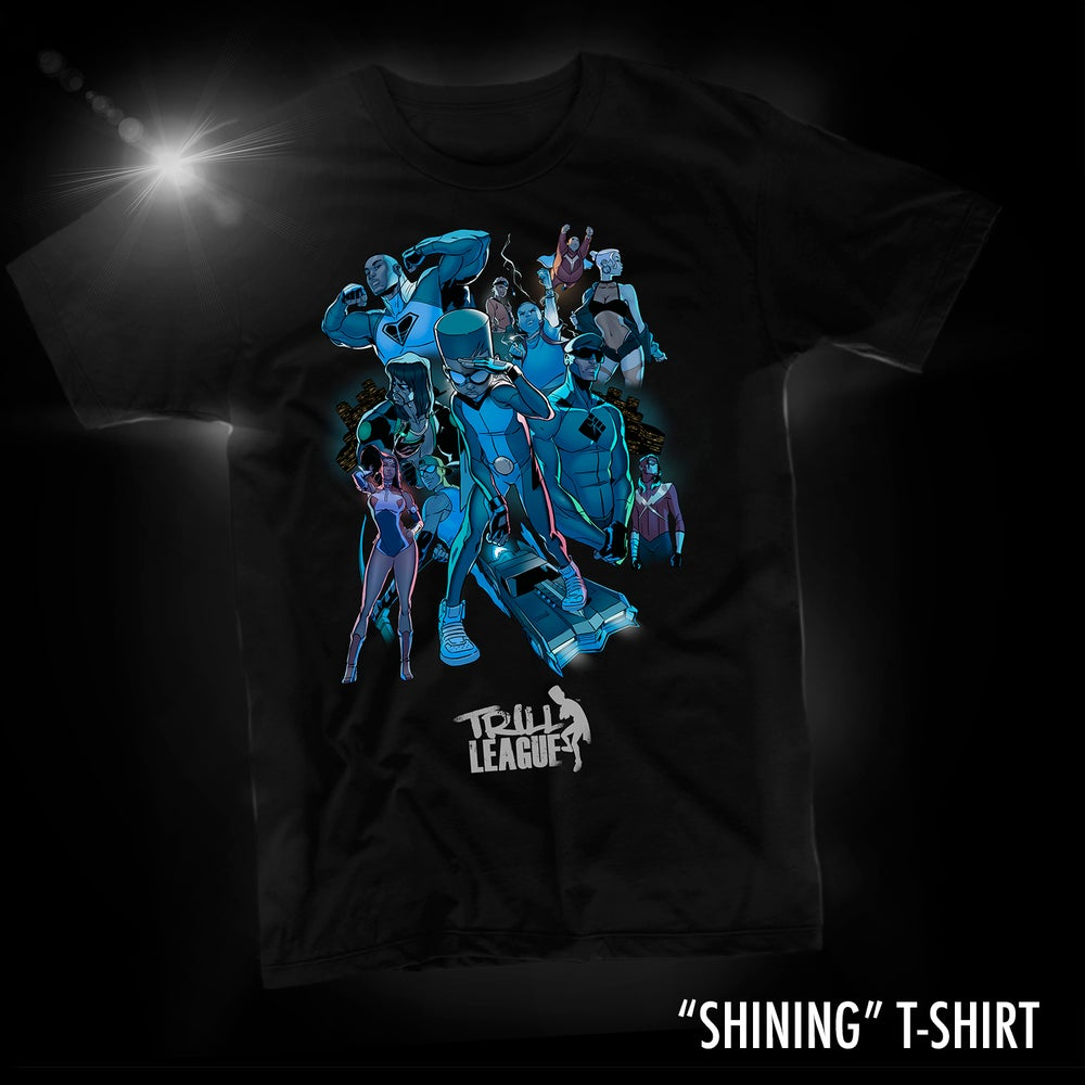 Image of SHINING T-SHIRT