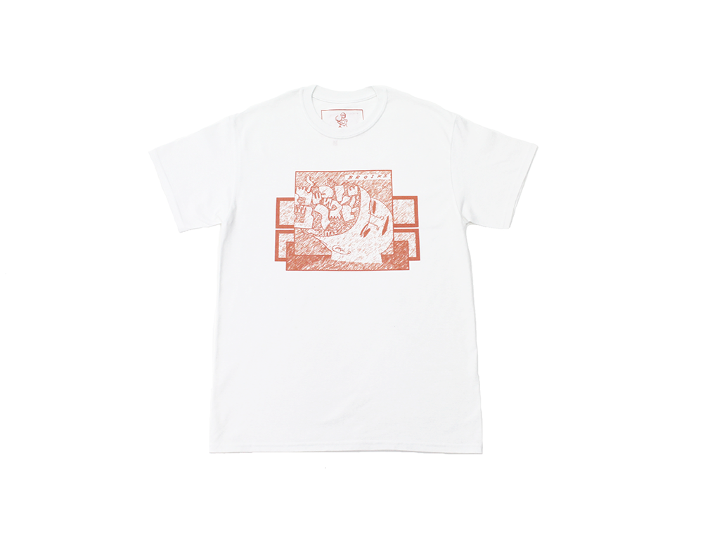 Image of Broski - Brain Broth T Shirt White