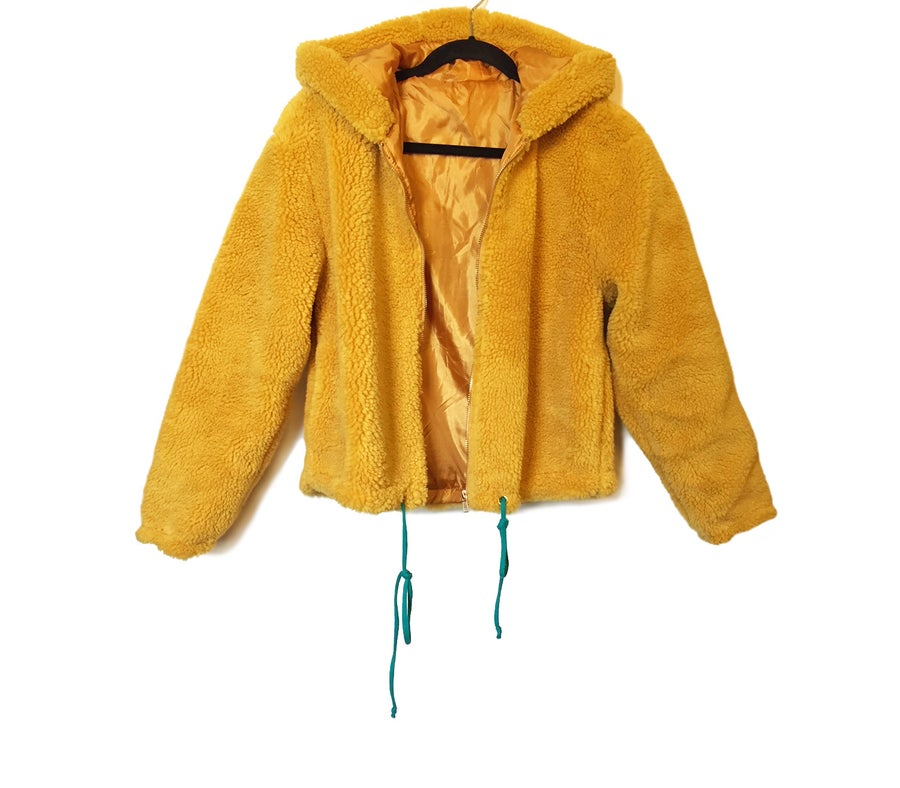 Image of My Yellow Fur Hoody
