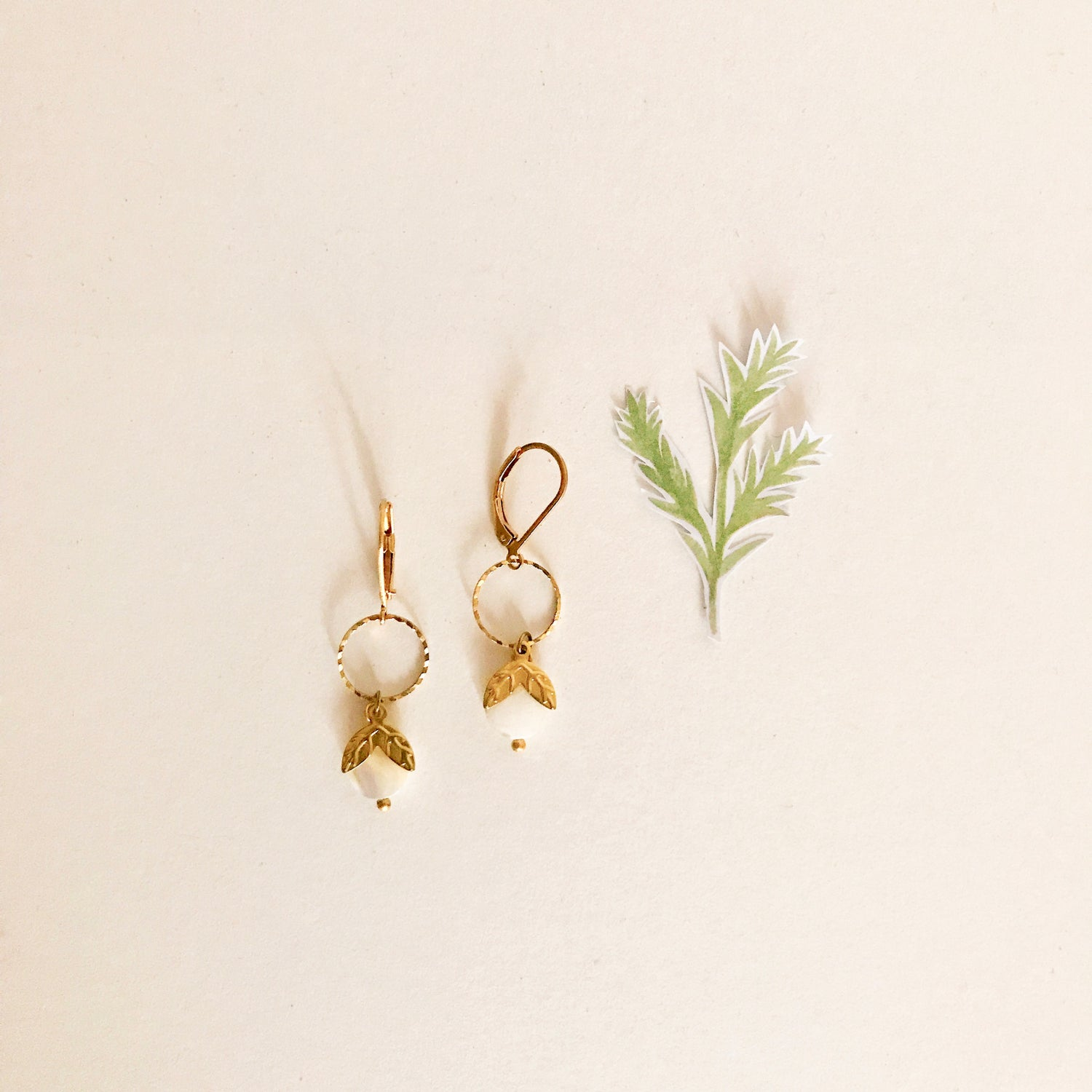 "Image of ""Printemps"" Boucles d'oreilles"