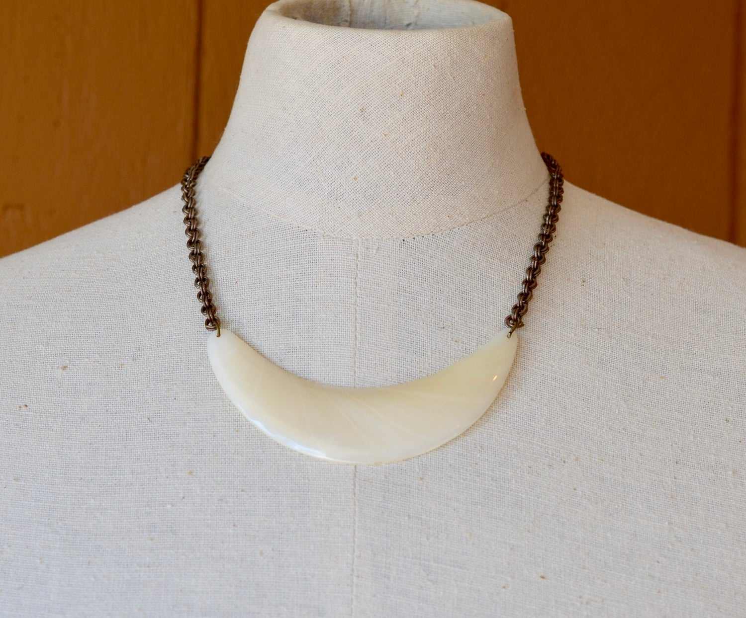Image of Vintage Mother of Pearl Necklace