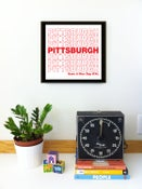 Image of Pittsburgh Have A Nice Day N'at Silkscreen Print