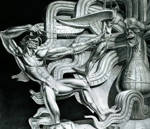 Image of Stanislav Szukalski: Ireland (Predators Make Empires) Print