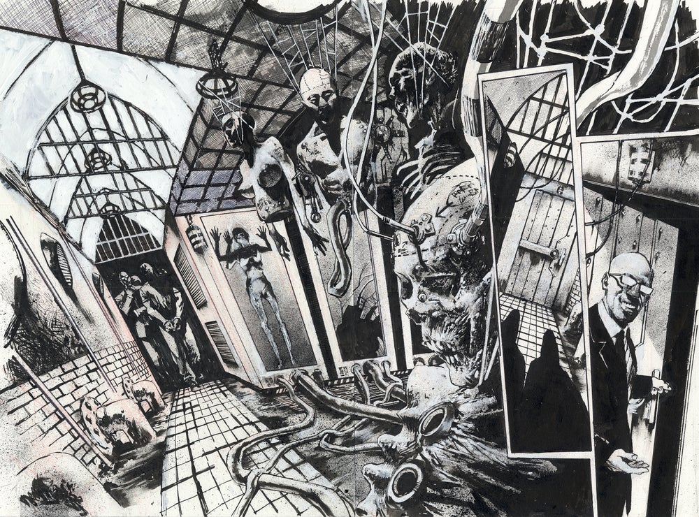 Image of Spawn pages 16-17. issue 286