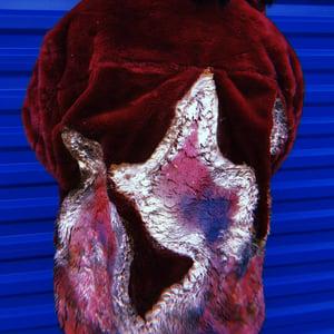 Image of Maroon Flame Fur