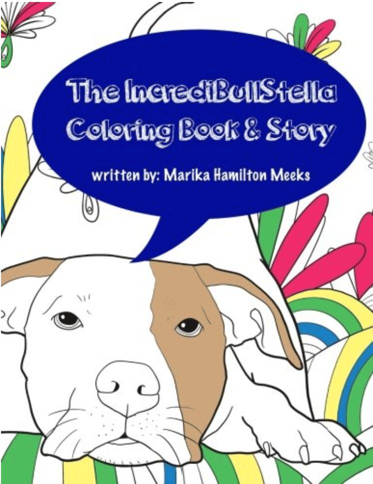 Image of IncrediBullStella - Coloring Book & Story