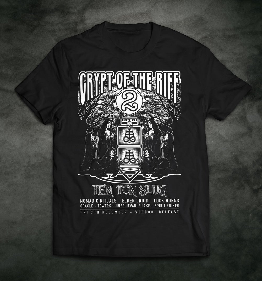 Image of Crypt of the Riff Vol. 2 T-shirt